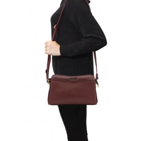 Kadın Bordo Çapraz Çanta