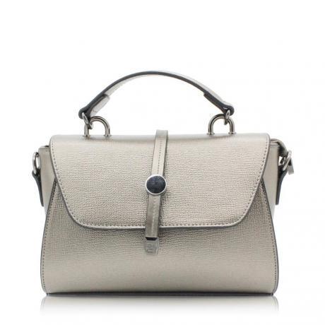 Bayan El Çantası -  Gümüş Renk Çapraz Bayan Çanta