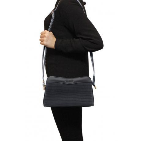 Kadın Kroko Lacivert Çapraz Çanta