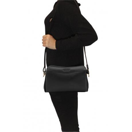 Kadın Kroko Siyah Çapraz Çanta