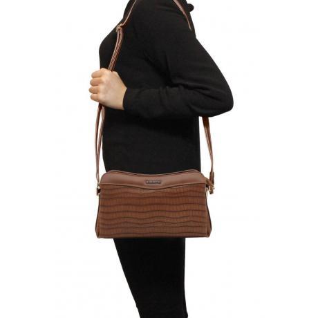 Kadın Kroko Taba Çapraz Çanta